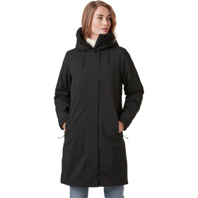 Helly Hansen Victoria Insulated Rain Coat Women, black